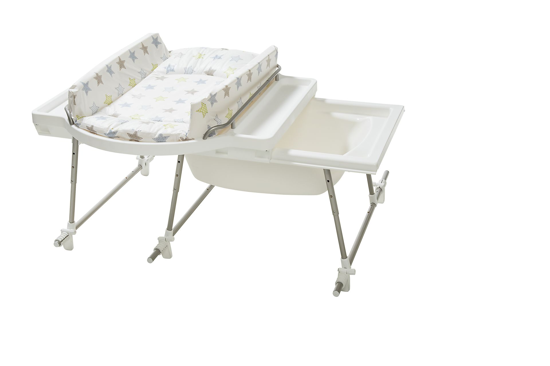Geuther Combine Baignoire Table A Langer Aqualino Geuther