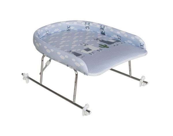 Höhenverstellbarer Wickelaufsatz für Badewanne von Geuther